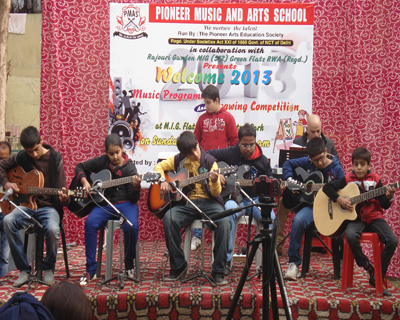 WELCOME 2013 Held on 30/12/2012 at Rajouri Garden,