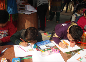 Drawing Competition on 26th Jan 2012