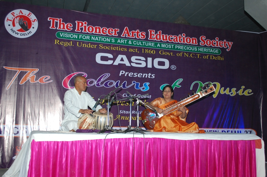 THE COLOURS OF MUSIC ON 16-11-2014